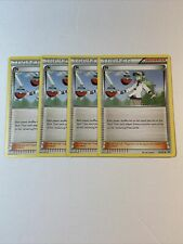 4x Pokemon N Trainer Card 92/101 Uncommon NM Supporter Playset