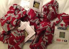 WSU Cougars 12 Hair Ties SCRUNCHIES Lot of 12 Washington State Ponytail Twists