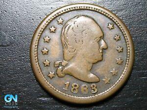 1863 Civil War Token  --  MAKE US AN OFFER!  #B9378