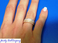 Eternity Band 40pts of Diamonds 18K Gold Ring VS2 F-G Color  DR1601