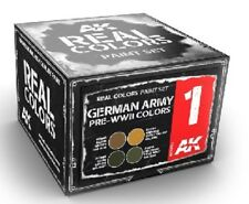 AK INTERACTIVE Real Colors German Army Pre WWII Acrylic Lacquer Paint Set 4 RSC1