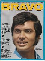 BRAVO Nr.33 vom 12.8.1968 Robert Hoffmann, Bee Gees, Tom Jones, David Garrick...
