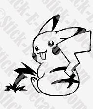 Pika-PEE Pikachu Pokemon Funny Decal Sticker FREE USA SHIPPING!