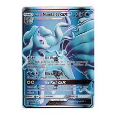 Alolan Ninetales GX FULL ART Holo Guardians Rising 132/145 (Proxy | Flash Card)
