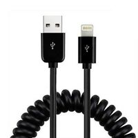 Coiled Cable USB Power Wire Rapid Charge Sync Data Cord for iPhone