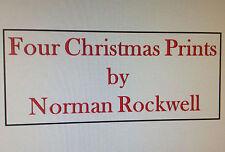Norman Rockwell Saturday Evening Post CHRISTMAS PRINTS