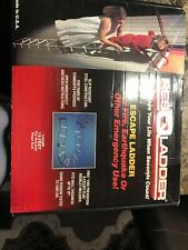 Resqladder Res Q Fire Escape Ladder 15 ft Series 1000 2 Story Emergency New/Box