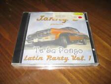 JONNY Z - Te La Pongo Latin Party Vol. 1 CD - FROST SPM South Park Mexican