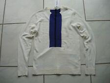 ICEBERG Pullover elfenbein Gr. S Leinen gebrochenes weiß linen off-white jumper