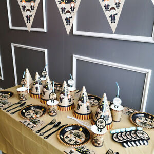Harry potter Party Banner Decors Plates Tablecloth Balloon Birthday Tableware UK