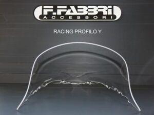 YR064 Fabbri Cupolino Solo Pista Trasparente per Yamaha YZF R6 2006 2007