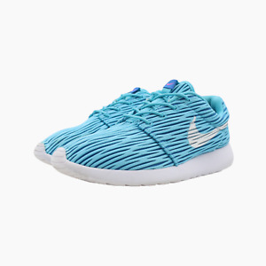 Nike Roshe One Eng Womens Blue Textured Gym Trainers UK 6 Sneakers 833818 410