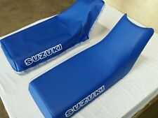 SUZUKI LT230 QUAD SPORT 1987 MODEL REPLACEMENT SEAT COVER  BLUE (S38)