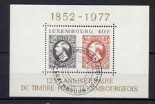 LUXEMBOURG LUXEMBURG # BLOK 10 # USED CV 6.50 EU 111