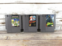 Nintendo NES Super Mario Bros Godzillz Monster Of Monsters Teenage Ninja Turtles