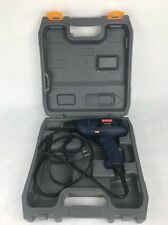 """Ryobi 3/8"""" Vsr Electric Drill with case Great Shape Barely Used D40 120 Volt"""