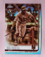 2019 Topps Chrome JEFF MCNEIL Sepia Refractor Rookie Card Mint SP Mets RC Logo