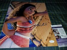 Auli'i Cravalho (Moana) Signed 11x14 in person. JSA CERTIFIED
