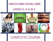 HSC QCF NVQ SVQ HEALTH SOCIAL CARE  LEVEL 2 3 4 5 (x57) ESSAY GUIDANCE EXAMPLES