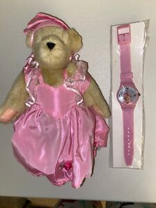NEW! NABCO MUFFY VANDERBEAR MUFFY AHEAD OF HER TIME EVENT PIECE 2000 WITH WATCH