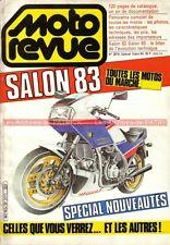 MOTO REVUE 2619 Catalogue International SALON 1983 ; HONDA VF 1000 F
