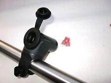 Motorcycle 12 Volt Accessory Lighter Power Jack Socket Outlet Handlebar Mount