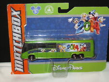 Matchbox 2014 Disney Parks Bus GREEN Sealed