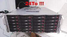 RORKE DATA AURORA GALAXY (24To) P/N CSE-846A-R1200B-K Avid Quantel Video Storage