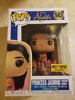 Funko Pop! Disney Aladdin #543 Princess Jasmine Desert Moon Hot Topic Exclusive