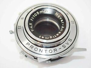 Nova Anastigmat 105mm f4.5 Large Format Lens