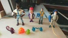 REAL GHOSTBUSTERS LOT OF 4 FIGURES + 5 GHOSTS 100% COMPLETE