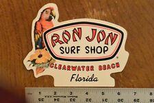 Ron Jon Surf Shop parrot Sticker Decal