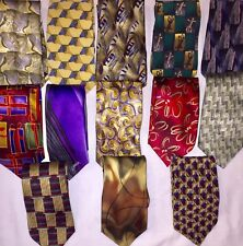 Great Looking J.Garcia Preowned Silk Ties Lot 13 Pre Owned Excellent Condition!