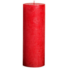 6 Bolsius Rustik Stumpen Kerzen 190x68 mm pastell beige Bolsius Rustic Kerzen