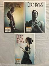 Dead Irons #1-3 Comic Book Set Dynamite 2009