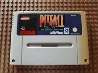 Super Nintendo Spiel Modul Pitfall The Mayan Adventure SNES PAL N62