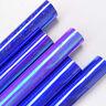 5pcs Blue Purple Bundle Heat Transfer Vinyl T-shirt Press Film Iron-on Garment