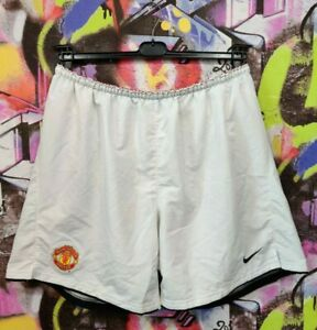 Manchester United FC 2008 2009 Home Football Soccer Shorts Nike Mens size XXL