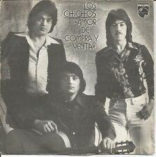 """LOS CHICHOS-AMOR DE COMPRA Y VENTA + PERDONAME SINGLE  7"""" VINYL 1980 SPAIN"""
