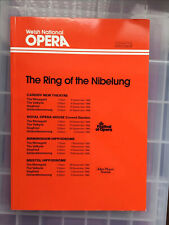 More details for welsh national opera the ring of the nibelung programme from 1986
