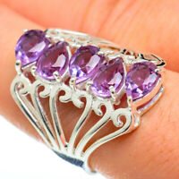 Color Change Alexandrite 925 Sterling Silver Ring Size 8.25 Jewelry R48134F