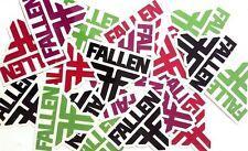 Fallen Footwear Stickers 5 Pack Assorted Colours New Skateboard decal