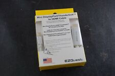 EZQUEST X40094 Aluminum Mini Displayport To Hdmi Cable, 6ft/1.8m