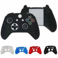 Anti-Slip Silicone Cover Case Gamepad Skin For Xbox One S Slim / X Controller US
