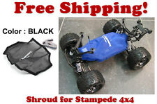 Traxxas Stampede 4X4 ESC Receiver Chassis Shroud by Outerwears 20-2656-01 BLACK