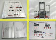 Kalmar EFA DSA Sideloaders Stapler Verkaufshandbuch Modelleinführung 1995