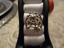 Silver Ring-925-Size-7 #63-Vintage Sterling