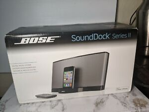EXTREMELY RARE NEW! BOSE SoundDock Early iPhone Ipod Player Series II YEAR 2012