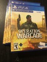 Operation Warcade Sony Playstation 4 VR PS4 PSVR Brand New Sealed