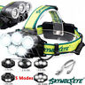 90000LM 5X T6 LED Headlamp Rechargeable Headlight Light Head Flashlight Torches-